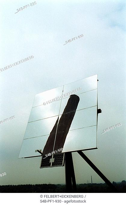 Solar Energy - Zeche Zollverein - Essen - North Rhine-Westphalia - Germany