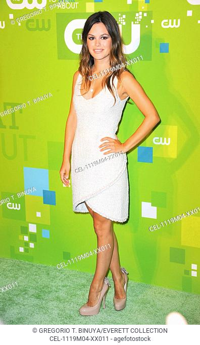 Rachel Bilson (wearing a Chanel Couture dress and Brian Atwood shoes) at arrivals for CW Network Upfront Presentation for Fall 2011, Frederick P