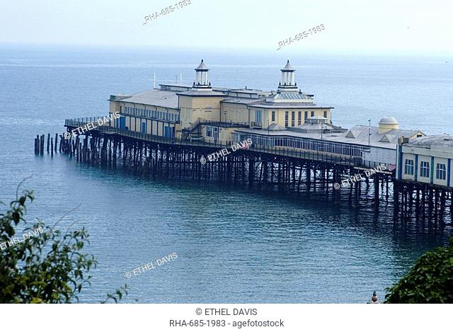 White Rock pier, Hastings, Sussex, England, United Kingdom, Europe