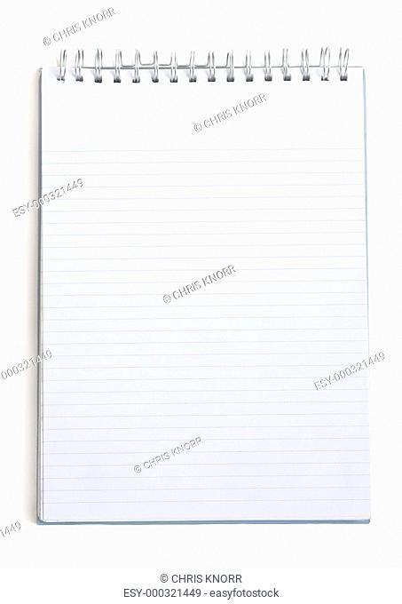 Blank writing pad