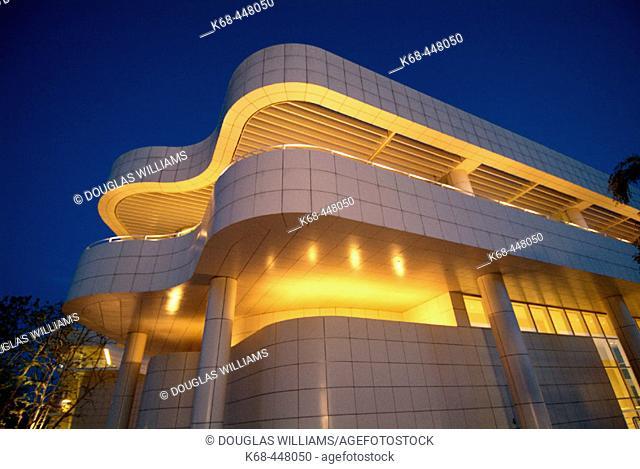 Getty Center, Los Angeles, California. USA