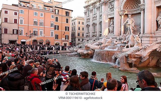 Fontana di Trevi, Rome, Italy, Europe