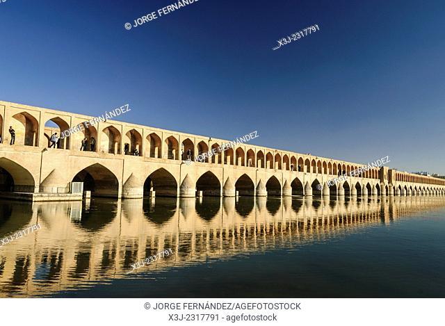View of the Isfahan bridge, Iran