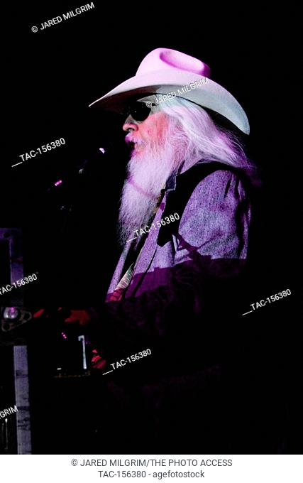 Leon Russell performs at the Stagecoach, California's County Music Festival Day 2 on May, 1 2011 in Indio, Ca