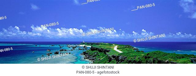 Ocean Coast, Higashihennazaki, Iriomote, Okinawa, Japan