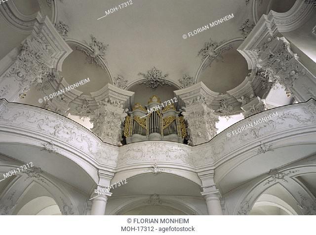 Werneck, Schloß/ Schloßkirche, Orgelempore
