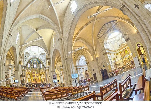 Metropolitan Cathedral-Basilica of the Assumption of Our Lady of Valencia, Valencia, Valencia Comunity, Spain, Europe