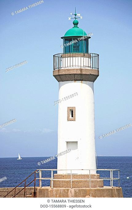France, Brittany, lighthouse