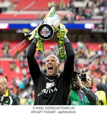 2015 Skybet Championship Playoff Final Middlesbrough v Norwich May 25th. 25.05.2015. London, England. Skybet Championship Playoff Final