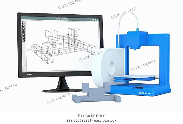 3d printer, from sketch to prototype