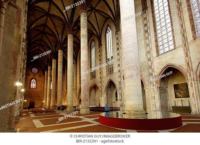 Church of the Jacobins, Haute-Garonne, Toulouse, France, Europe