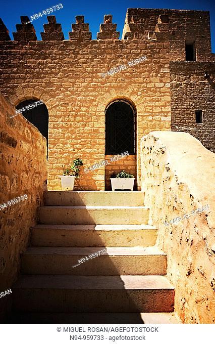 Inside the 'ribat', Monastir, Tunisia