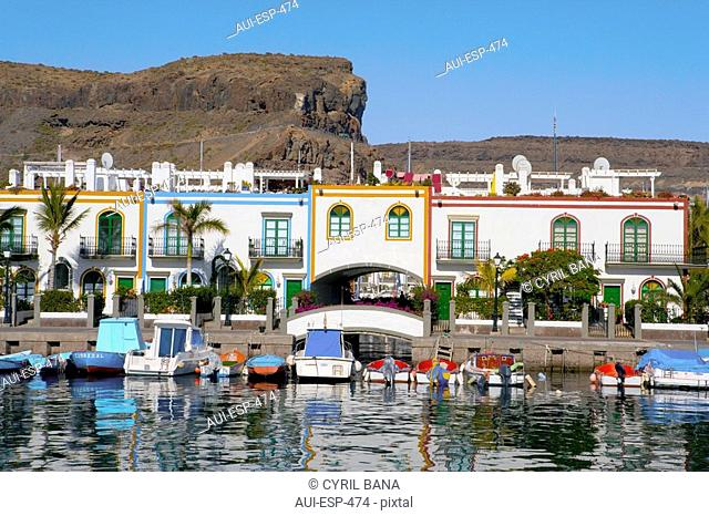 Spain - Canary Islands - Gran Canaria - West Coast - Puerto de Mogan