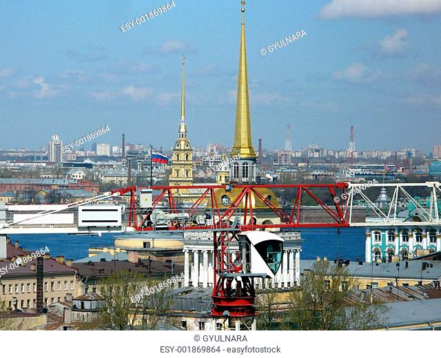 S.Petersburg from Saint Isaac`s Cathedral