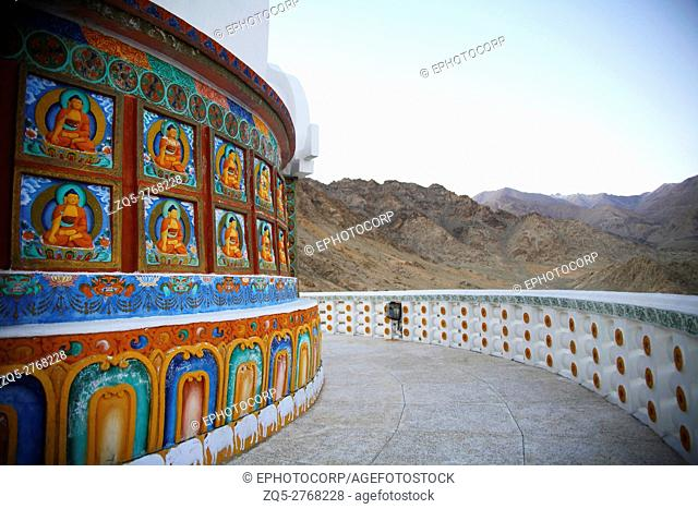 Shanti Stupa is an impressive white-domed structure in Changspa that is beautifully illuminated at night. It was built by a Japanese Buddhist organization to...