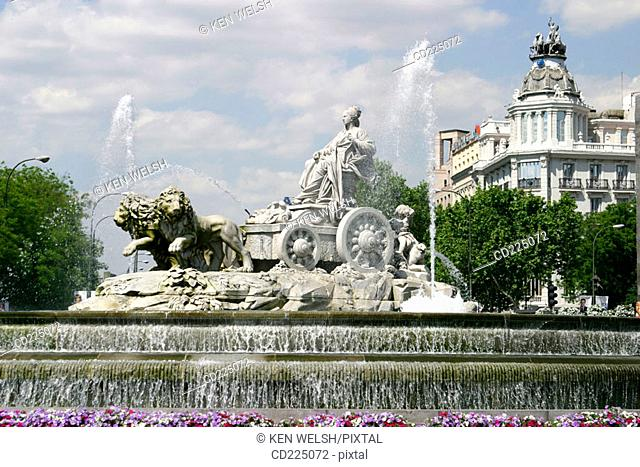 Plaza de la Cibeles. Madrid. Spain
