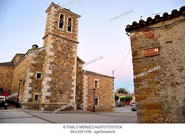 Church of Santo Tomas of Gascones, Madrid, Spain