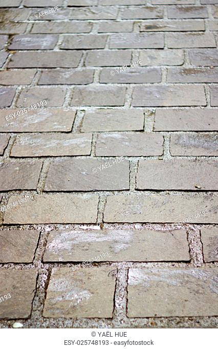 gray pavement of streets in France