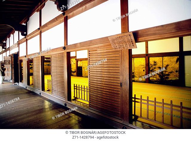 Japan, Kansai, Koya san, Kongobu-ji buddhist temple, interior