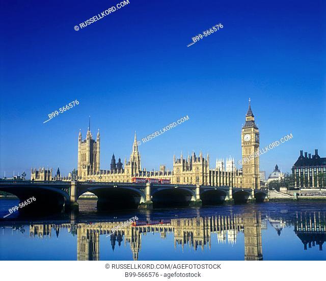 Houses Of Parliament, Westminister Bridge, London, England, U.K