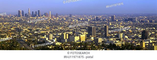 Los Angeles Skyline from Mulholland