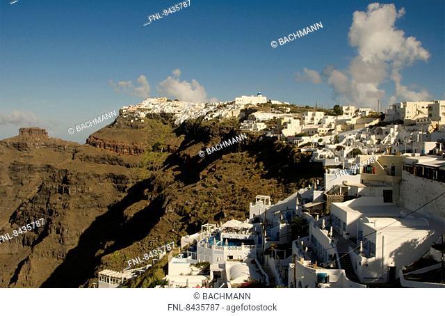 Fira, Santorin, Cyklades, Greece, Europe
