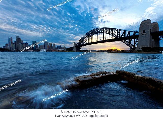 A view of Sydney Harbour