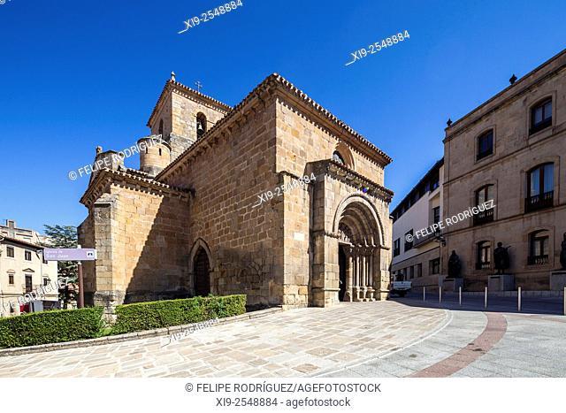 San Juan de Rabanera church, Soria, Spain