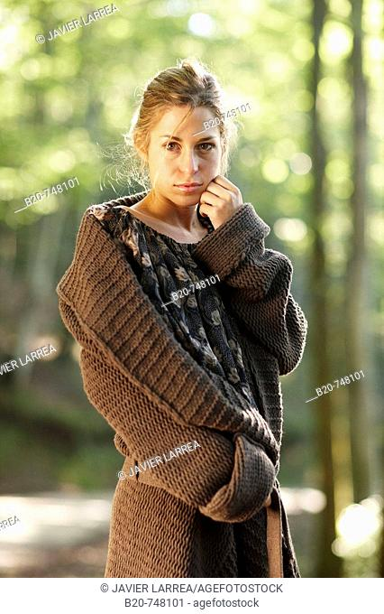 25 year old woman. Belate, Baztan, Navarra