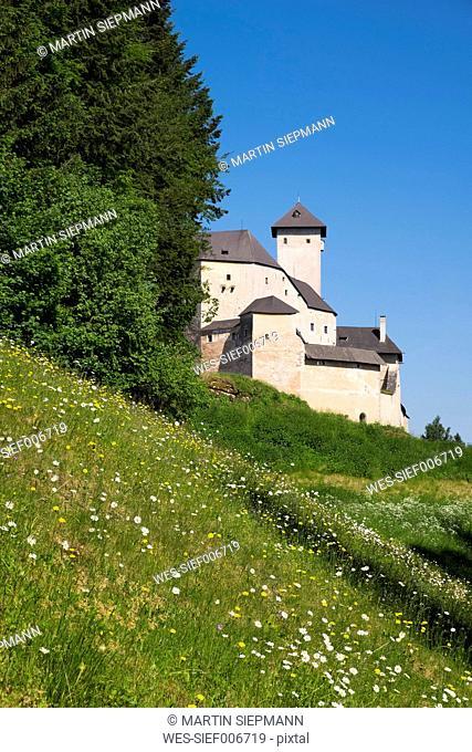 Austria, Lower Austria, Rappottenstein, Burg Rappottenstein