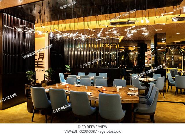 With modern and elegant interiors, NOZOMI, is the award winning contemporary Japanese lifestyle restaurant. Its culinary style i