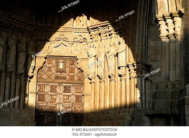 Tui cathedral  Pontevedra province, Galicia, Spain