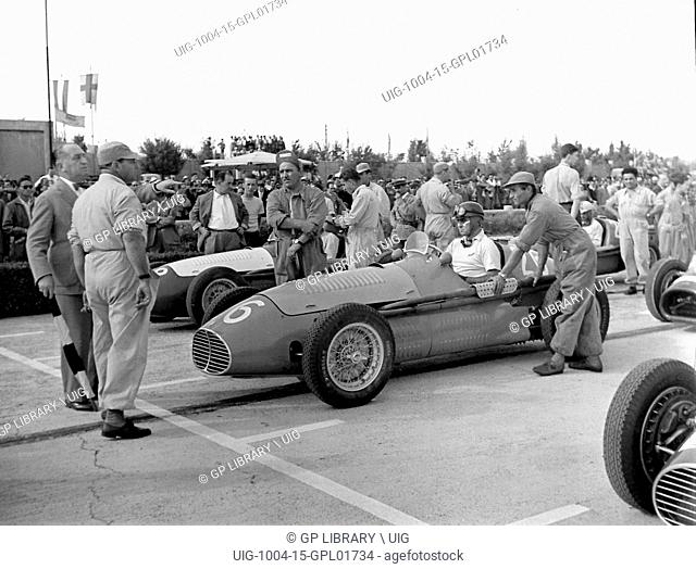 Italian GP at Modena 1953, Marimon Maserait front row