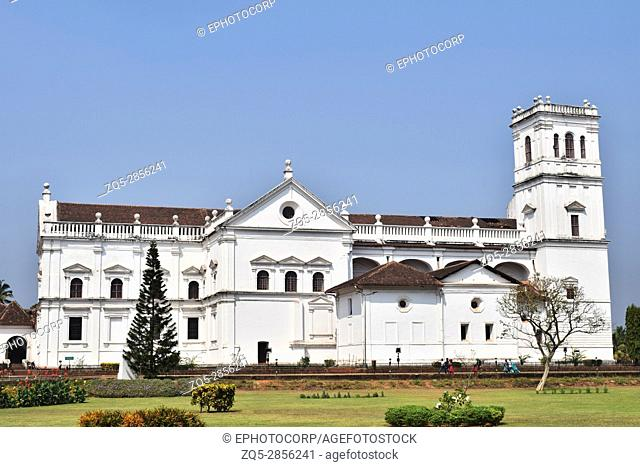 Se Cathedral, Largest Church in Asia, Old Goa, India