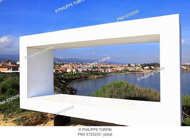 Spain, Andalousia. Algeciras. Playa de El Chinarral
