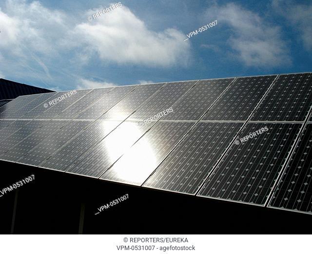 Solar energy,Belgium seacoast;energie solaire,zonne-energie Reporters / EUREKA