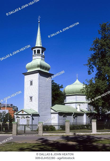 Kazan Wooden Church, Tallinn, Estonia
