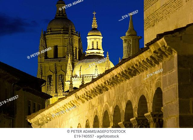 Cathedral. Segovia. Castile-Leon. Spain