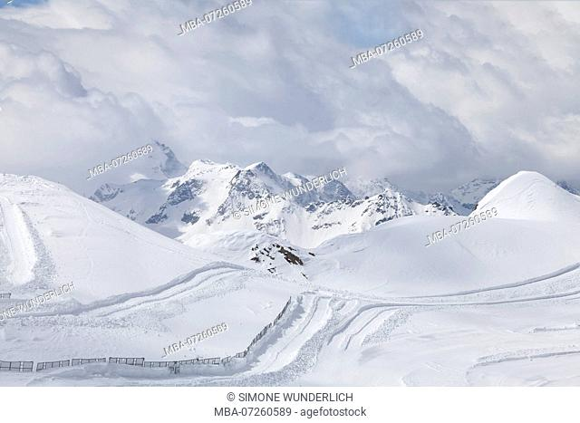high alpine landscape in Austria