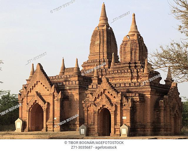 Myanmar, Burma, Bagan, buddhist temple,