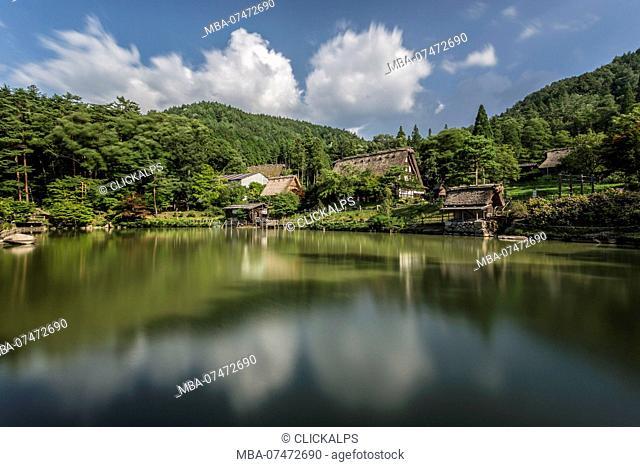 Hida no Sato folk Village, district of Gifu Prefecture, Takayama, Japan