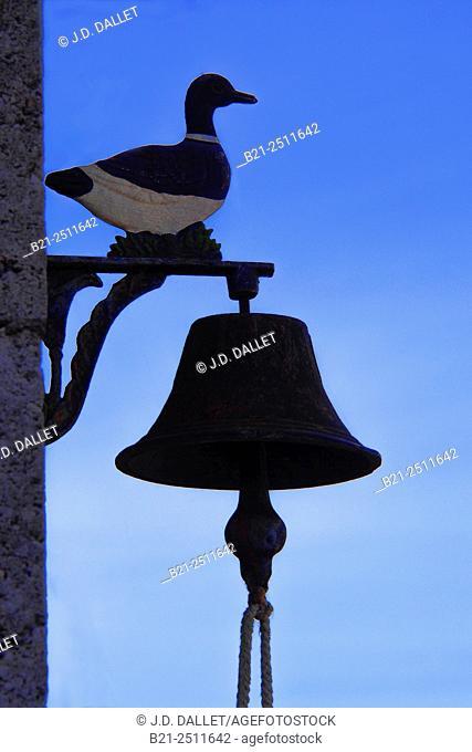 Door bell at Saint Remy, Dordogne, Aquitaine, France