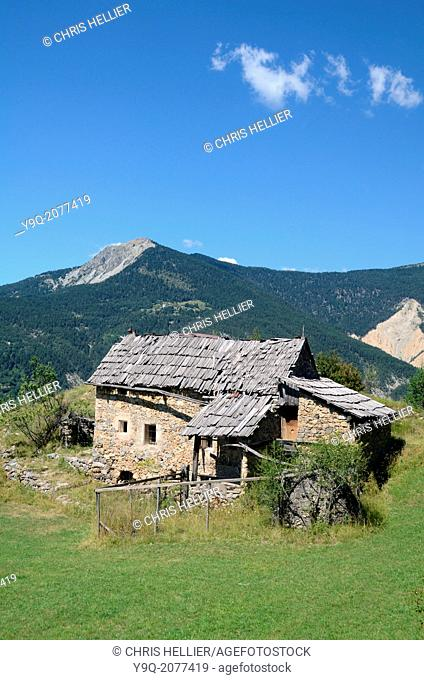 Abandoned Farmhouse Peone near Valberg Alpes-Maritimes French Alps France