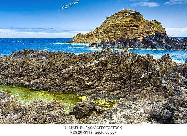 Porto Moniz. Madeira, Portugal, Europe