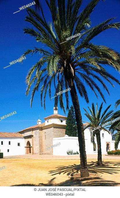 Monastery of La Rabida, Palos de la Frontera. Huelva province, Andalusia, Spain