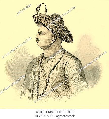 'Tippoo Saib', c1790, (1890). Creator: Unknown