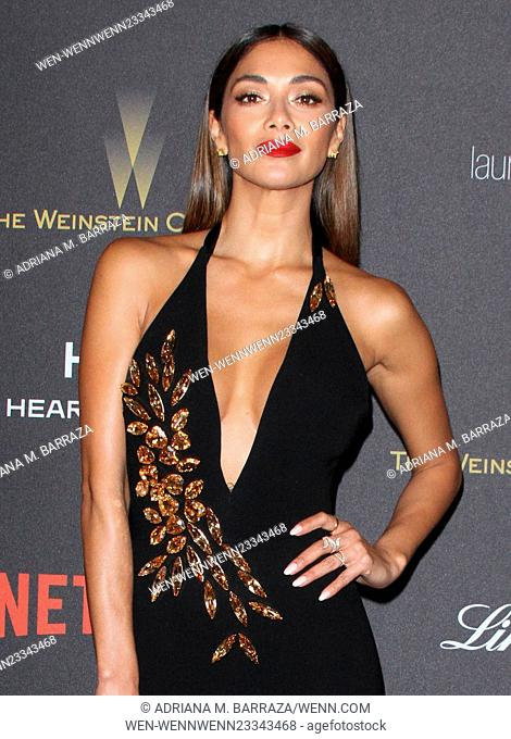 The Weinstein Company & Netflix 2016 Golden Globe after party held at the Beverly Hilton Hotel - Arrivals Featuring: Nicole Scherzinger Where: Los Angeles