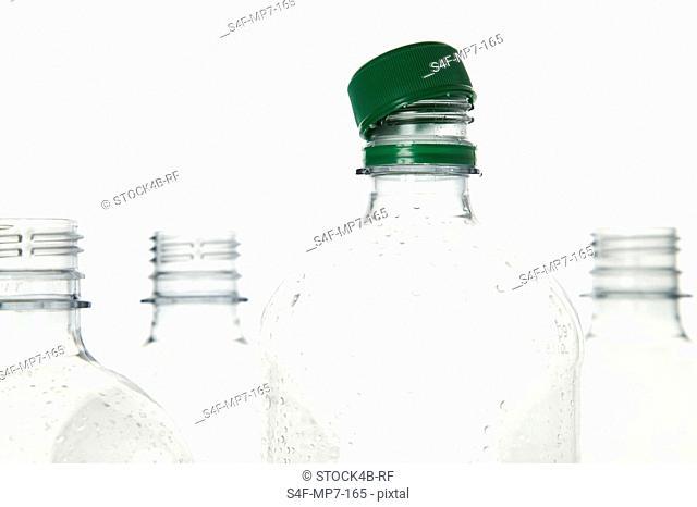 Four plastic bottles, Germany