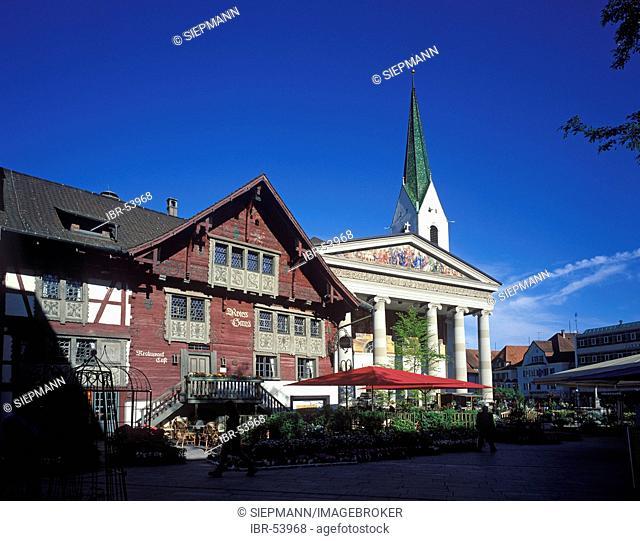 Dornbirn Rotes Haus Vorarlberg Austria