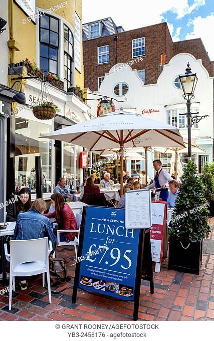 English's Seafood Restaurant, The Lanes, Brighton, Sussex, UK